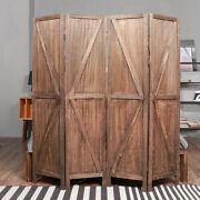 Woodyhomeandtrade Room Divider Screen Privacy Screen Wood Folding Partitio