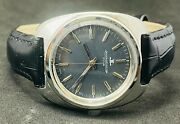 Vintage Jaeger Lecoultre Club Hand-winding Swiss Movement Blue Dial Men's Watch