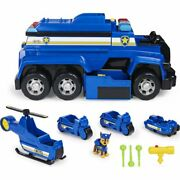 Paw Patrol Chaseandrsquos 5-in-1 Ultimate Cruiser With Lights And Sounds Play Vehicle