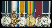 Ww1 U-boat Action Royal Navy Distinguished Service Gallantry Medal Group 1917