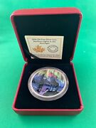 2016 Canada 30 Silver Glow In The Dark Northern Lights In The Moonlight 429