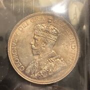 Canada 1936 50 Cents Ms63 Iccs