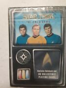 Vintage Star Trek The Card Game Contains 82 Collectible Playing Cards Fleer
