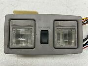 1990-1997 Oem Lincoln Town Car Sunroof Switch With Dome Light Overhead  t3712