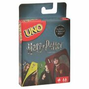 Uno Harry Potter Themed Card Game For 2-10 Players Ages 7y+ New