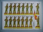Spanish Military Army Toy Soldiers Wwii Paper Dolls