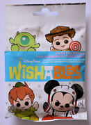 Disney Collectible Pin Pack Wishables Mystery Bag Of 5 Pins Sealed New