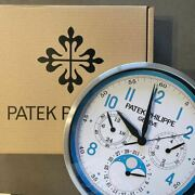 Patek Philippe Wall Clock Novelty Not For Sale Rare From Japan Free Shipping