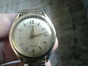 Vintage Hamilton Cal. 661 Menand039s Automatic 10k Gold Filled Watch-hidden Crown