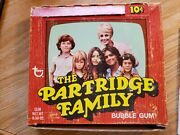 The Partridge Family Bubble Gum Full Box By Topps