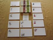 Vintage Greeting Cards 2 Boxes Post A Note Nos New In Box