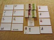 Vintage Old Greeting Cards 2 Boxes Post A Note Nos New In Box