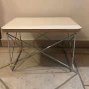 Vitra Eames Occasional Table Ltr Charles And Ray Eames Design Hpl Weiandszlig Chrom
