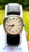 Rolex Early 20th Century Square Face Watch Rare Hard To Find As Itandrsquos 100 Years