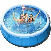 Wderni Inflatable Above Ground Swimming Pool - 10ft X 30in Easy Set Kiddie Po...