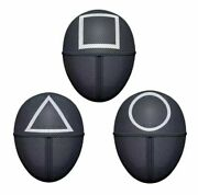 Squid Game Mask Square Circle Triangle Boss Squid Game Masks Full Face Usa