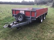 Trailer 10x5 Flatbed Removable Sides Reconditioned Axles Springs Brakes Wheels