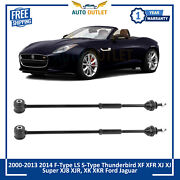 New Rear Tie Rod Pair Set Of 2 For F-type S-type Xf Xfr Xj Xjl Xk Xkr Xkr-s