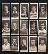 Cigarette Cards.ogdens Tobacco.famous Rugby Players.1926.complete Set Of 50.