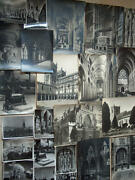 Old Vintage 24 Photo S Of England Cathedral S Abbey S Wwii Signed Photographer S