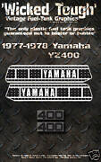 Yamaha 1977-1978 Yz400 Wicked Tough Decal Graphic Kit