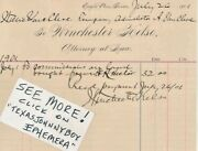 1901 Eagle Pass Texas Winchester Kelso Military Guard