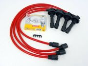 95-99 Eclipse Turbo Spark Wires Ngk Platinum Plugs Red