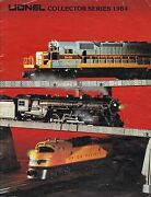 Lionel Model Train Collector Series Catalog 1984 Lots Of Photos