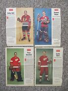 1958-1967 Weekend And Star Weekly Magazine Hockey Photos. 28 Different
