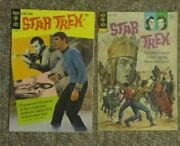 Star Trek Gold Key Comic 2 15 Cent Color Back Cover And 23 And 54