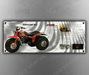 Vintage Honda And039touch And Goand039 Three Wheeler Banner