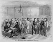 Civil War Officers At The Saloon Bar Of The Spottswood House Richmond Virginia