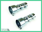 Baffles, Exhaust, 1 And 3/4, Choppers, Bobbers, Customs Pair, Exh0002