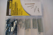 60pc Maxcraft Toggle Wing And Bolt Assortment