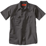 Wholesale Lot 24 New Uniform Work Shirt Short Sleeve Sp24 Red Kap Mechanic Auto