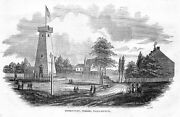 Observatory At Chelsea, Massachusetts 1854 Gothic Tower