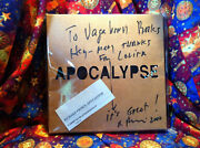 Apocalypse -tshirt For And039crazyand039 Signed By Richard