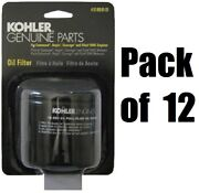 12 Kohler 12 050 01-s1 Spin On Oil Filters For 17-26 Hp Command Cv Ch Engines