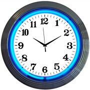 Wholesale Lot Of 20 Real Neon Clocks Signs Mix Of Colors Available 15 Wall Lamp