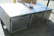 Chef Stand Or Ref. Equip. Stand. 115 V. 3 Doors.casters 900 Items On E Bay
