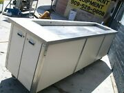 Salad Bar On Casters Non Refrigerated Long S/s Tub 900 Items On E Bay