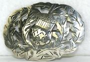 Vintage Arts And Crafts Stavre Gregor Panis Sterling Silver Thistle Pin