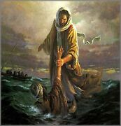 Morgan Weistling Our Refuge And Strength Artist Proof Canvas