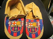 11 Used Native American Full Beaded Fcd Barcelona Moccasins