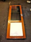 1988 Bayliner Trophy Cabin Entry Door Wood With Glass Fast Shipping