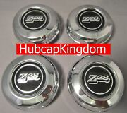 New 1970-1981 Chevrolet Camaro Z28 Z-28 5-spoke Mag Wheel Center Cap Set