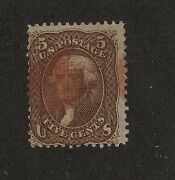 95 Used Scarce Grill Red Cancel Catalog 950.00 Rl0327
