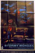 Stormy Monday 1989 Melanie Griffith, Tommy Lee Jones, Sting Uk 40x60 Poster