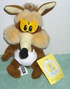 Warner Brothers Studio Looney Tunes Baby Wile E. Coyote 7 Plush Bean Bag Toy