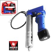 12v Cordless Rechargeable Grease Gun Home Automotive Power Tools